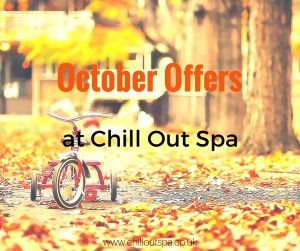 October offers at Chill Out Spa