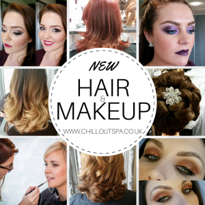 Hair and Makeup Packages now available at Chill Out Spa